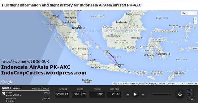 AirAsia QZ 8501 PK-AXC missing rute 03
