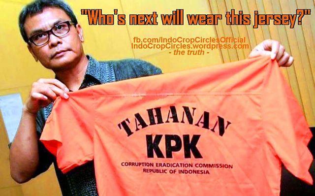 baju penjara oranye kpk untuk koruptor