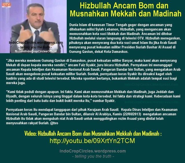 Dr.Fayez Shukr Mekkah dan madinah akan di bom