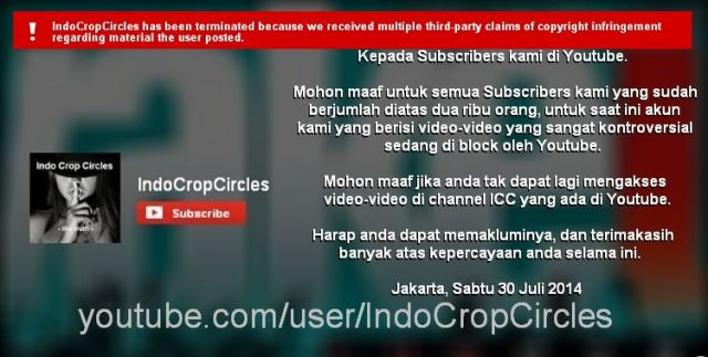 video ICC di youtube blocked Sat 30-8-2014