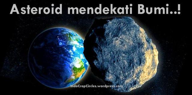 asteroid mendekati bumi banner