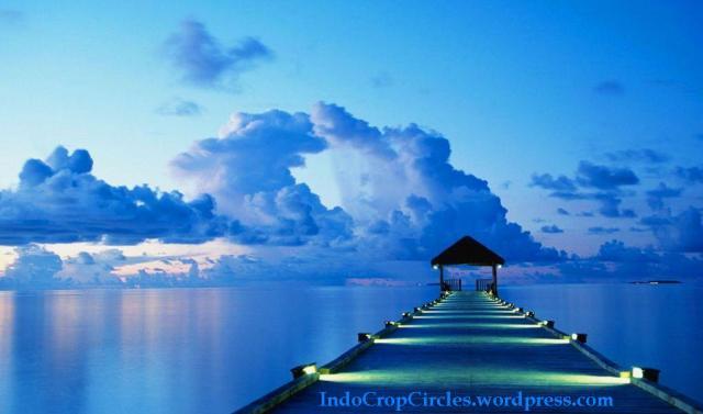 blue sky langit biru