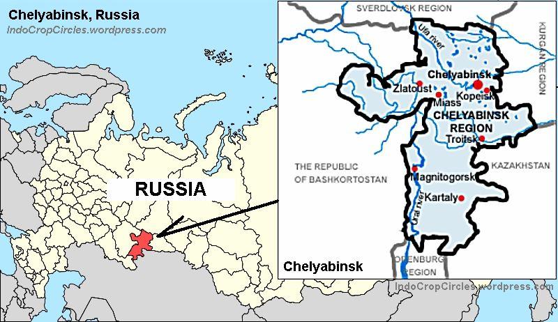 Chelyabinsk Russia  city photos : Chelyabinsk Russia map