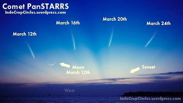 komet comet-panstarrs-march-2013