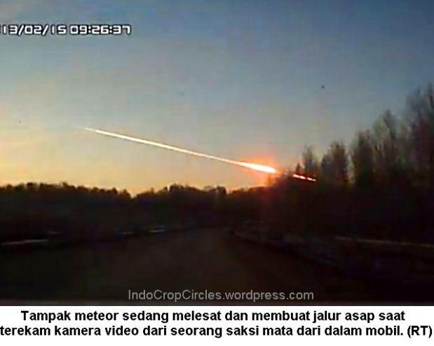 Meteor russia - Meteor melesat