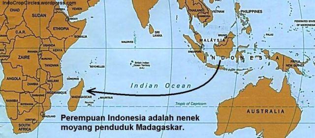 perempuan madagaskar berasal dari Indonesia