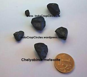 Russia Chelyabinsk meteorite stones