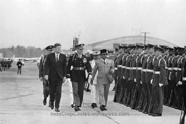 Sukarno and JFK Keneddy