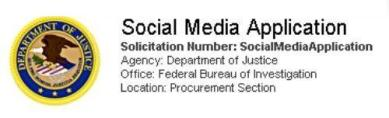fbi internet sosial media