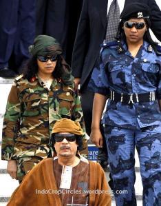 Muamar Gaddafi's Libya was Africa 's most prosperous Democracy