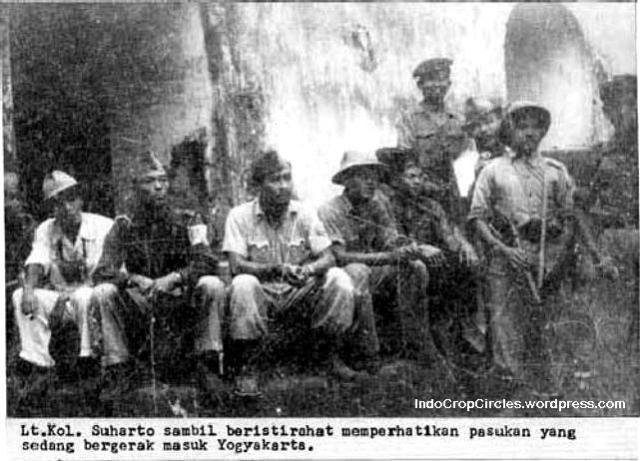 suharto dan pasukan bergerak ke Yogyakarta
