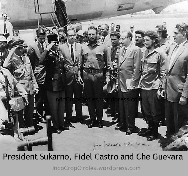 Sukarno Fidel Castro Che Guevara