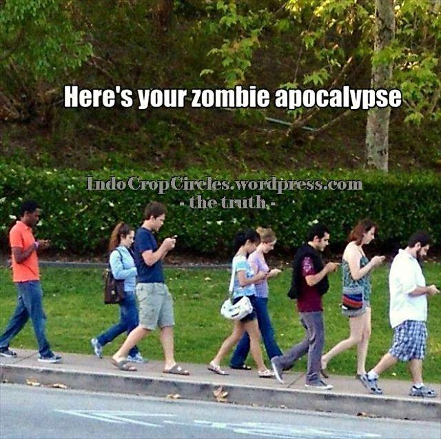 bbm gadget people texting like zombie