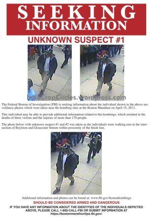 bomb boston marathon suspect-1 release