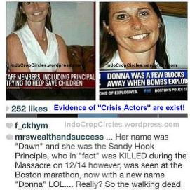 crisis actors boston - dawn to be donna