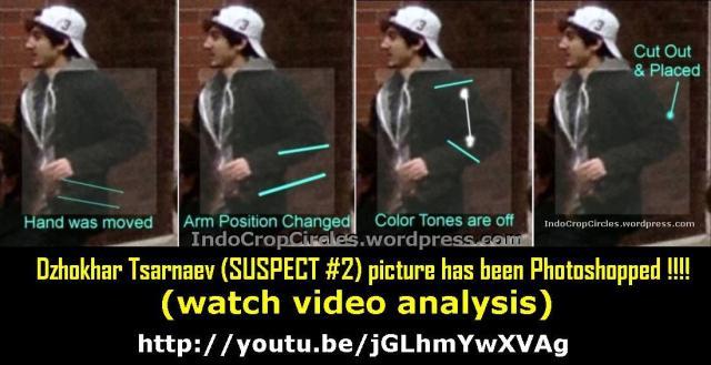 Dzhokhar Tsarnaev (bom Boston SUSPECT #2) picture has been photoshopped