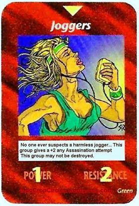 ILLUMINATI CARD 291 Jogger