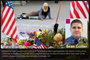 korban keempat bom boston marathon
