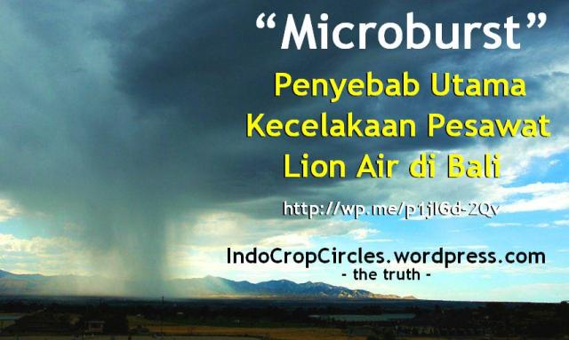 microburst lion air crashed in bali indonesia