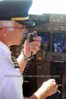 pilot speaking