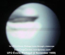UFO pertama saat melintasi Évora, Portugal (NatGeo)