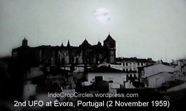 UFO kedua yang lewat di Évora, Portugal (2 November 1959)