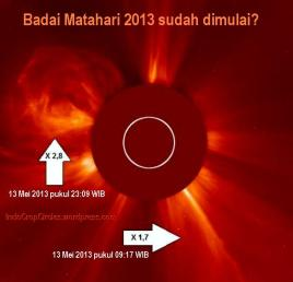 badai matahari May 2013 - 01