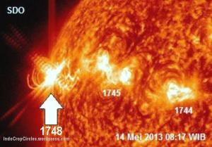 badai matahari May 2013 - 03