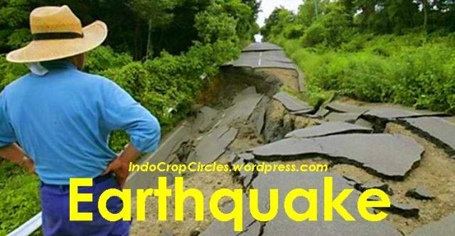 gempa earthquake banner