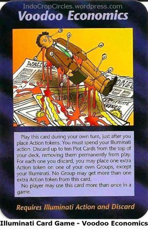 Illuminati Card Game - Voodoo Economics
