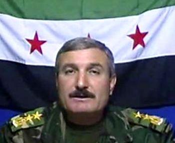 Pemimpin sekaligus pendiri Tentara Pembebasan Suriah (FSA), Riad al-Assaad