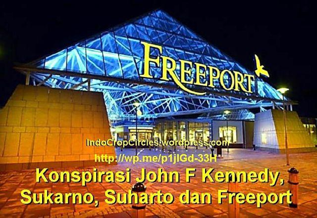 suharto sukarno freeport banner