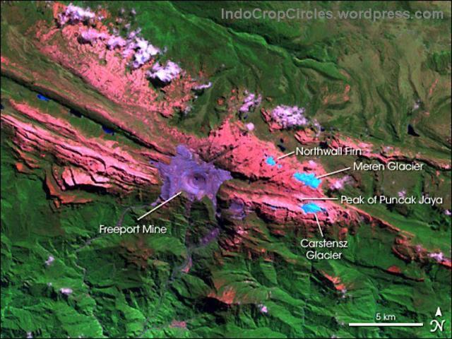 tambang freeport mine puncak jaya lorentz indonesia