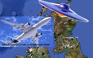 UFO Airbus Glasgow