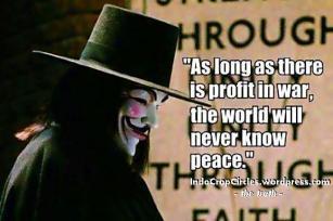 war is profit