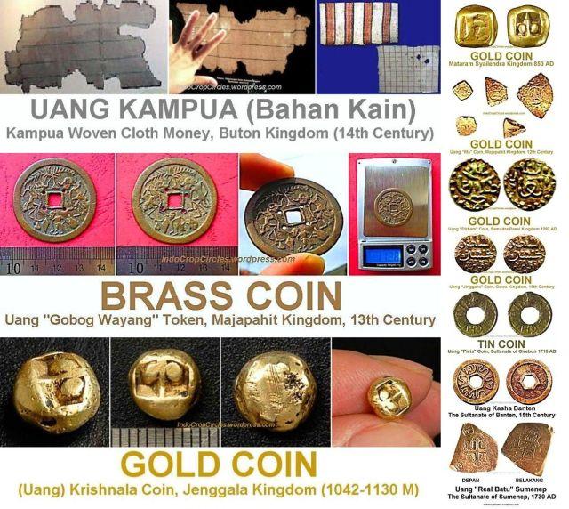 10 mata uang tertua di Indonesia