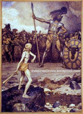 alien the Anakim, David-and-Goliath