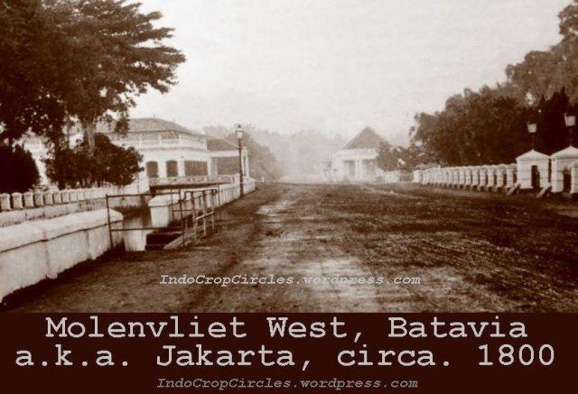 Jakarta jadul - Molenvliet West Batavia