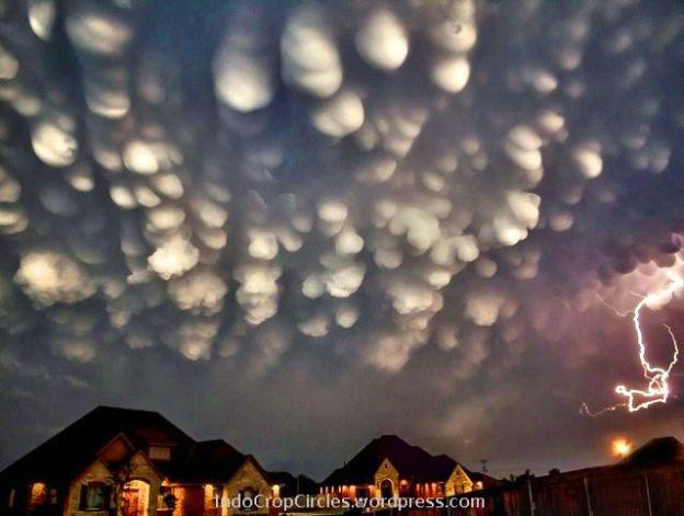 Mammatus Clouds 1