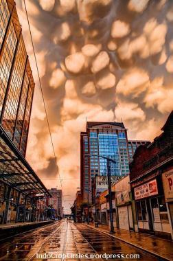 Mammatus Clouds 2
