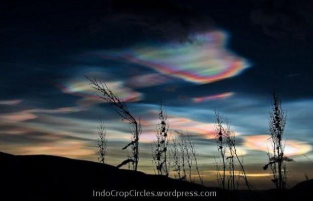 Polar Stratospheric Cloud 1