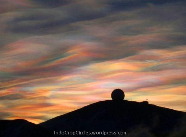 Polar Stratospheric Cloud 2