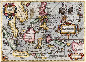 Jodocus Hondius map terbit 1606