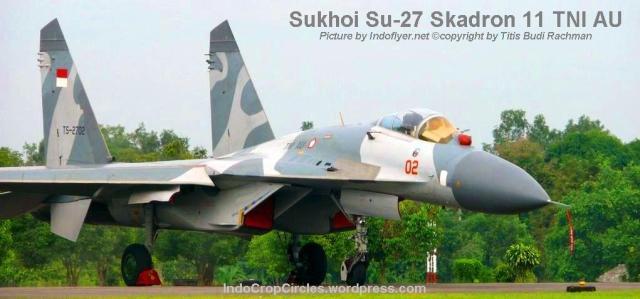 Sukhoi su27 Skuadron11 Indonesia TNI-AU