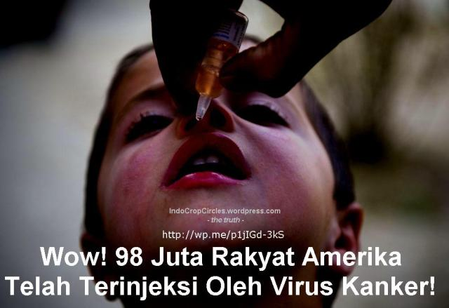 virus cancer via polio vaccination banner