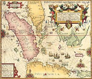Southeast Asia map by Willem Lodewijcksz (1598)