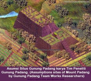 Asumsi Situs Gunung Padang Karya Tim Peneliti Gunung Padang