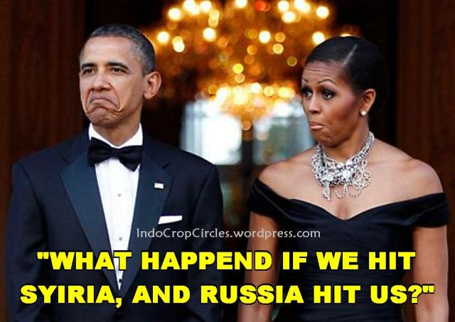 barack obama hit suriah russia hit US