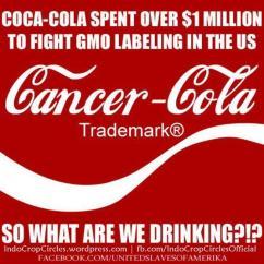 cocacola cancer gmo
