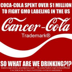 cocacola cancer gmo